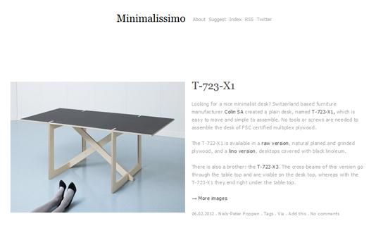 Blog minimalissimo.com