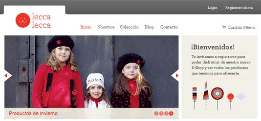 Screenshot leccalecca.com.ar