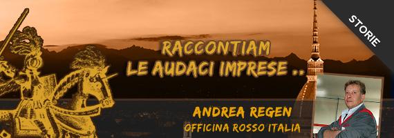 Raccontiamo audaci imprese: intervista ad Andrea Regen