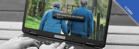 Anziani, computer e le nove tecnologie