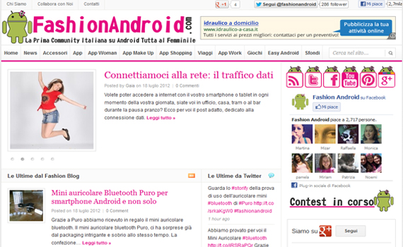 Fashion Android - la prima community dedicata ad Android tutta al femminile
