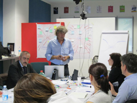 Docenti del corso Storytelling d'impresa - A. Giachin Ricca e Piero Camerone