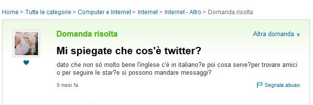 cos'è Twitter?