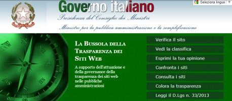 Legge trasparenza - sito la bussola