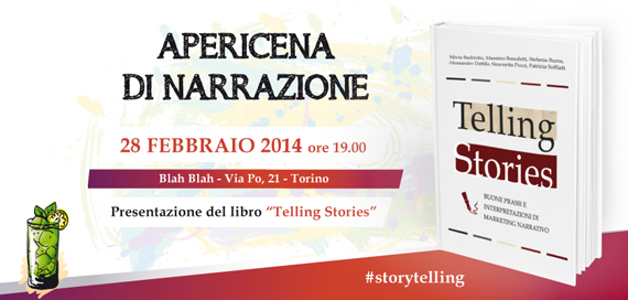 Apericena narrativo Telling Stories