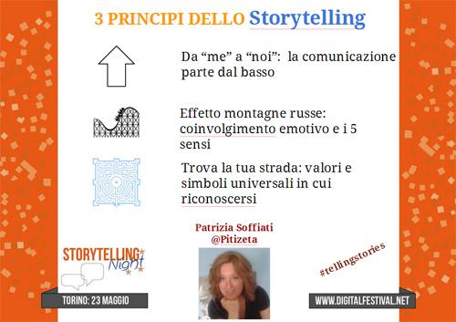 3 principi dello storytelling