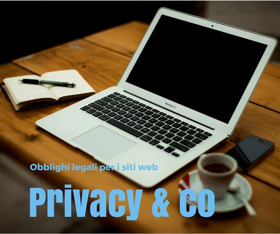 Obblighi legali per i titolari di siti web