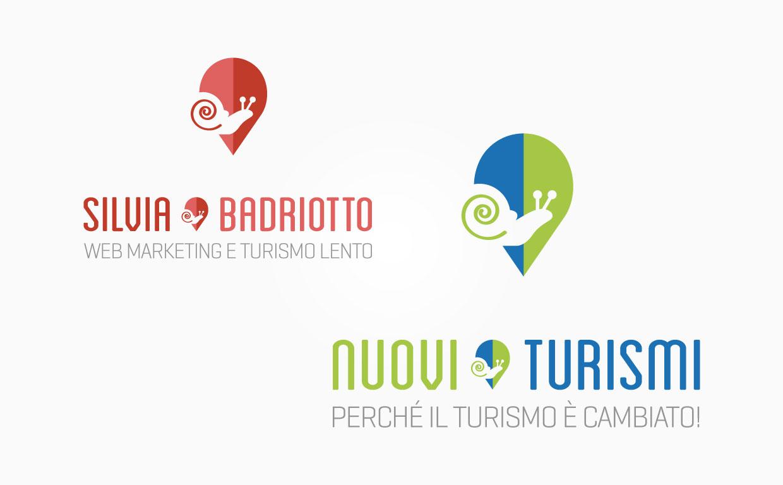 Logo Nuovi turismi e Silvia Badriotto - Tre W siti web