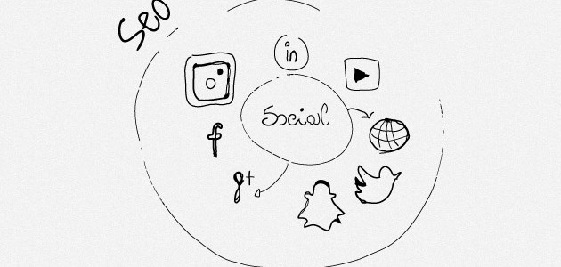Seo social visibilità web