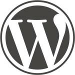 logo wordpress - tre w siti web